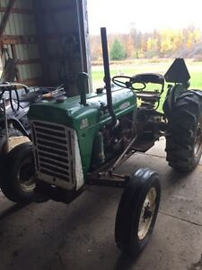 1967 Oliver 550 runs very well Bush hog included London Ontario image 1