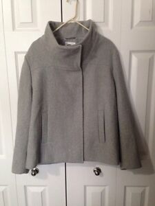 Plus size clothing coat & tops