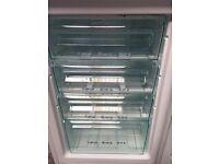 White draw freezer