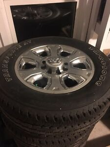 New dodge 3500 rims and tires