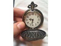 Second Decorative Pocket Watch