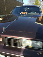End of an era.. beginning of yours! 1987 Oldsmobile Cutlass