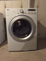 like-new WHITE LG washer and Dryer