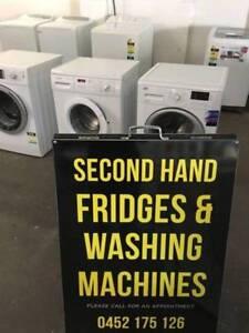 OPEN TODAY UNTIL 5PM Warranty washing machine $280-$550