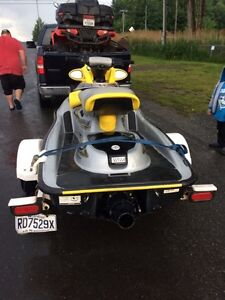 See doo XP 1000cc *Mint with trailer Gatineau Ottawa / Gatineau Area image 2