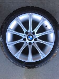 BMW 17' Rims (5x120) with Goodyear All season tires