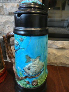 Selling Two Large Beer Steins Hand Painted Ceramic - $26 each Kitchener / Waterloo Kitchener Area image 4