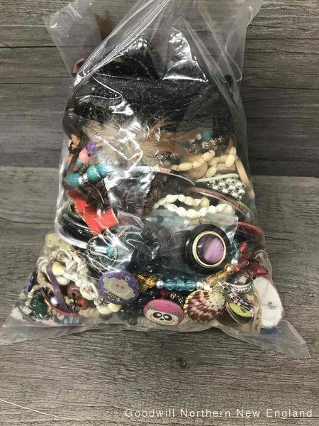 3.5 Lbs Craft Jewelry Grab Bag AS IS Final Sale