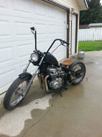 Hardtail bobber project