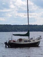 Sadly for Sale Halman 20 refit to 21 with Bowsprit