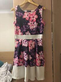 Miss look dress, size 12