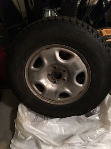 Winter Tires Bridgestone Blizzak 235/70R16