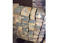 over 90 pieces of Bricks, very dry and good condition from a knockdown internal wall