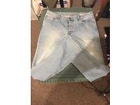 Jeans size 32 (w) 32 (leg)