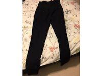 Black maternity jeans size 12