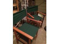 2x new garden chairs