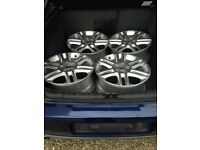 "Vauxhall vectra 17"" alloys"