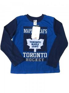 Toronto Maple Leafs LS Cotton Shirt