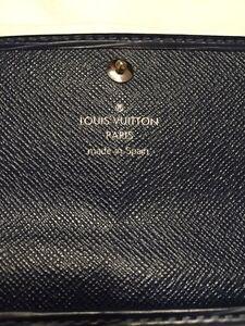 Louis Vuitton Indigo Epi Leather Sarah Wallet