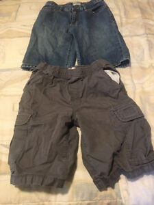 Boys size 10 shorts from Children Place adjustable waist in both
