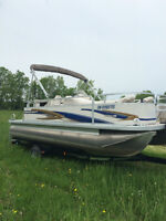 2011 Princecraft Vectra 19 Pontoon boat