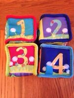 Soft learning blocks x4