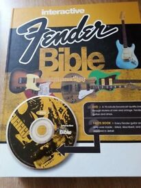 Interactive Fender Bible by Hunter, Dave - Hardcover – 2 Nov 2007