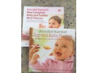 Annabel Karmel baby and toddler meal books