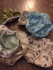Miscellaneous plastic covers for cloth diapers