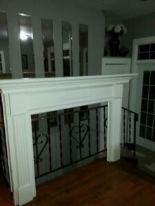 Fireplace Mantel, desk chair, fan, etc. etc. see ad for prices