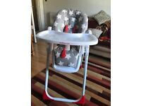 Mothercare star high chair