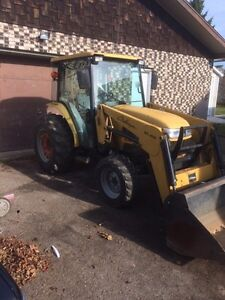 2005 Challenger MT295B with loader and snow blower