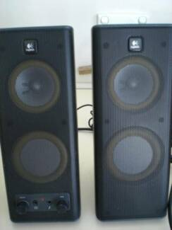 Logitech speakers for computer - Model S-02648  Stereo sound  $15