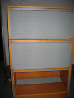 6 IKEA FILING CABINETS WITH GARAGE DOOR IN EXCELLENT CONDITION