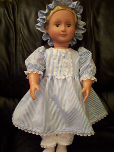 American Girl-sized Doll Clothes - Colonial Pinstripe Windsor Region Ontario image 1