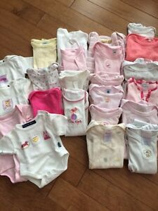 Lot de 30 cache-couches pour fille