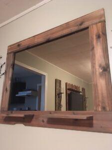 Custom cedar mirrors Regina Regina Area image 2