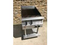 Radiant Gas Chargrill on Fixed Stand