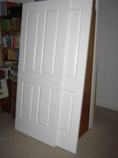A Pair of Internal Vinyl Coated Panel Doors (As New) Ettalong Beach Gosford Area Preview