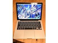 "MacBook Pro Late 13"" Inch Retina Display 256 SSD Memory"