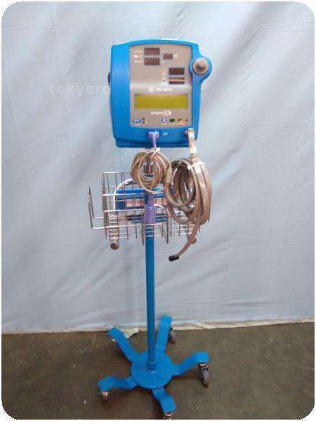 GE DINAMAP PRO 300V2  MULTI-PARAMETER VITAL SIGNS PATIENT MONITOR ! (257411)