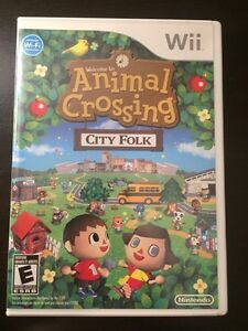 Animal crossing for Wii