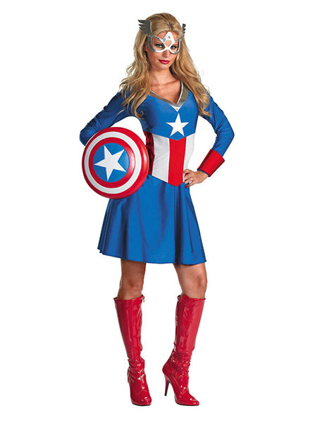 a girls guide to creating a captain america costume - Halloween Stores Oklahoma City