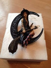 Hanging Witch on broom