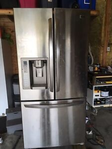 LG Stainless Steel Fridge