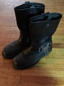 Harley Davidson steel toe riding boots