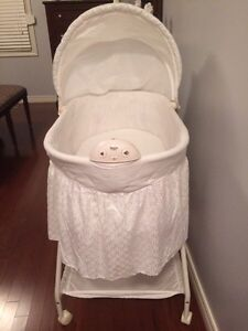 Bassinet- baby white bassinet - see all pictures  London Ontario image 3