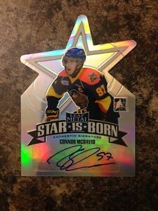 Limited print Mcdavid Authentic Auto 01/15