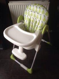 Kiddie care high chair
