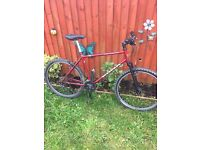 Retro kona fire mountain with upgraded and updated parts. Shimano, mavic, on one Easton